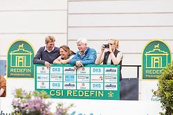 Meyer zu Hartum, Florian (GER);<br /> Schockemöhle, Paul (GER), <br /> Redefin - Pferdefestival 2017<br /> © Stefan Lafrentz