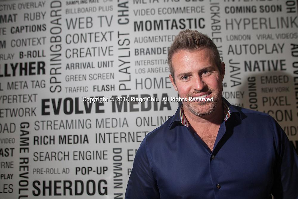 Brian Fitzgerald, President of Evolve Media.<br /> (Photo by Ringo Chiu/PHOTOFORMULA.com)