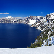 Mount Scott South Rim Edge View - Crater Lake