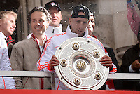 FUSSBALL TRIPELPARTY  SAISON  2012/2013  02.06.2013 Champions Party des FC Bayern Muenchen nach dem Gewinn des DFB Pokal und Triple.  Franck Ribery (FC Bayern Muenchen)