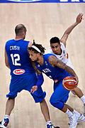 DESCRIZIONE : Trento Nazionale Italia Uomini Trentino Basket Cup Italia Germania Italy Germany <br /> GIOCATORE : Marco Cusin Daniel Hackett<br /> CATEGORIA : palleggio penetrazione blocco<br /> SQUADRA : Italia Italy<br /> EVENTO : Trentino Basket Cup<br /> GARA : Italia Germania Italy Germany<br /> DATA : 01/08/2015<br /> SPORT : Pallacanestro<br /> AUTORE : Agenzia Ciamillo-Castoria/Max.Ceretti<br /> Galleria : FIP Nazionali 2015<br /> Fotonotizia : Trento Nazionale Italia Uomini Trentino Basket Cup Italia Germania Italy Germany