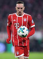 Fussball  DFB Pokal  Achtelfinale  2017/2018   FC Bayern Muenchen - Borussia Dortmund        20.12.2017 Franck Ribery (FC Bayern Muenchen)