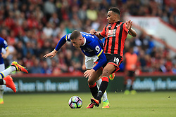 Ross Barkley of Everton is tackled by Junior Stanislas of Bournemouth - Mandatory by-line: Jason Brown/JMP - 24/09/2016 - FOOTBALL - Vitality Stadium - Bournemouth, England - AFC Bournemouth v Everton - Premier League
