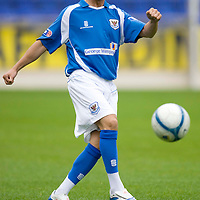 St Johnstone Season 2008-09<br /> Chris Millar<br /> Picture by Graeme Hart.<br /> Copyright Perthshire Picture Agency<br /> Tel: 01738 623350  Mobile: 07990 594431