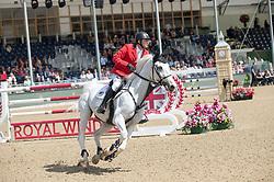 Bisharat Ibrahim, JOR, Bowie Z<br /> Rolex Grand Prix Jumping<br /> Royal Windsor Horse Show<br /> © Hippo Foto - Jon Stroud