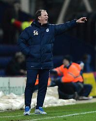 Preston North End Manager, Simon Grayson gestures - Photo mandatory by-line: Richard Martin-Roberts - Mobile: 07966 386802 - 20/01/2015 - SPORT - Football - Preston - Deepdale Stadium - Preston North End v Yeovil Town - Sky Bet League One