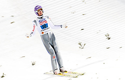 04.03.2017, Lahti, FIN, FIS Weltmeisterschaften Ski Nordisch, Lahti 2017, Skisprung Herren, Team, im Bild Andreas Wellinger (GER) // Andreas Wellinger of Germany // during Mens Team Skijumping of FIS Nordic Ski World Championships 2017. Lahti, Finland on 2017/03/04. EXPA Pictures © 2017, PhotoCredit: EXPA/ JFK