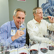 Seattle Wine Awards and Happy Hour Radio Celebrity Wine Challenge 2015. Tom Norwalk, Visit Seattle.