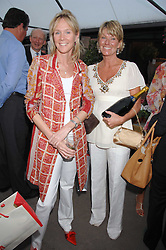 Left to right, the DUCHESS OF ROXBURGHE and KATE SLATER at a party for the Royal Marsden Hospital held at the Chelsea Gardener, Sydney Street, London on 6th May 2008.<br /><br />NON EXCLUSIVE - WORLD RIGHTS