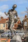 Roy Sprson statue outside Vale Park Stadium during the Sky Bet League 1 match between Port Vale and Coventry City at Vale Park, Burslem, England on 7 February 2016. Photo by Simon Davies.