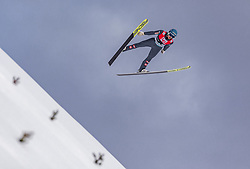 11.03.2019, Lysgards Schanze, Lillehammer, NOR, FIS Weltcup Skisprung, Raw Air, Lillehammer, Qualifikation, Herren, im Bild Philipp Aschenwald (AUT) // Philipp Aschenwald of Austria during the men's qualification of the 2nd Stage of the Raw Air Series of FIS Ski Jumping World Cup at the Lysgards Schanze in Lillehammer, Norway on 2019/03/11. EXPA Pictures © 2019, PhotoCredit: EXPA/ JFK