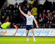 Josh Adams of Cardiff Blues<br /> <br /> Photographer Simon King/Replay Images<br /> <br /> Guinness PRO14 Round 8 - Ospreys v Cardiff Blues - Saturday 21st December 2019 - Liberty Stadium - Swansea<br /> <br /> World Copyright © Replay Images . All rights reserved. info@replayimages.co.uk - http://replayimages.co.uk