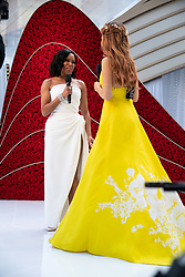 Oscar® nominee, Regina King, arrives on the red carpet of The 91st Oscars® at the Dolby® Theatre in Hollywood, CA on Sunday, February 24, 2019.