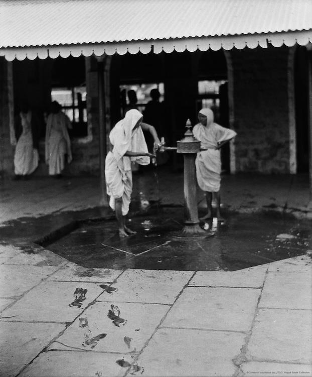 Morning Toilet, Raichur Station, India, 1929