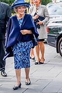 NIEUWEGEIN - Prinses Beatrix tijdens het 40-jarig jubileum van de Parkinson Vereniging, dat plaatsvindt tijdens Wereld Parkinson Dag 2017. ANP ROYAL IMAGES ROBIN UTRECHT