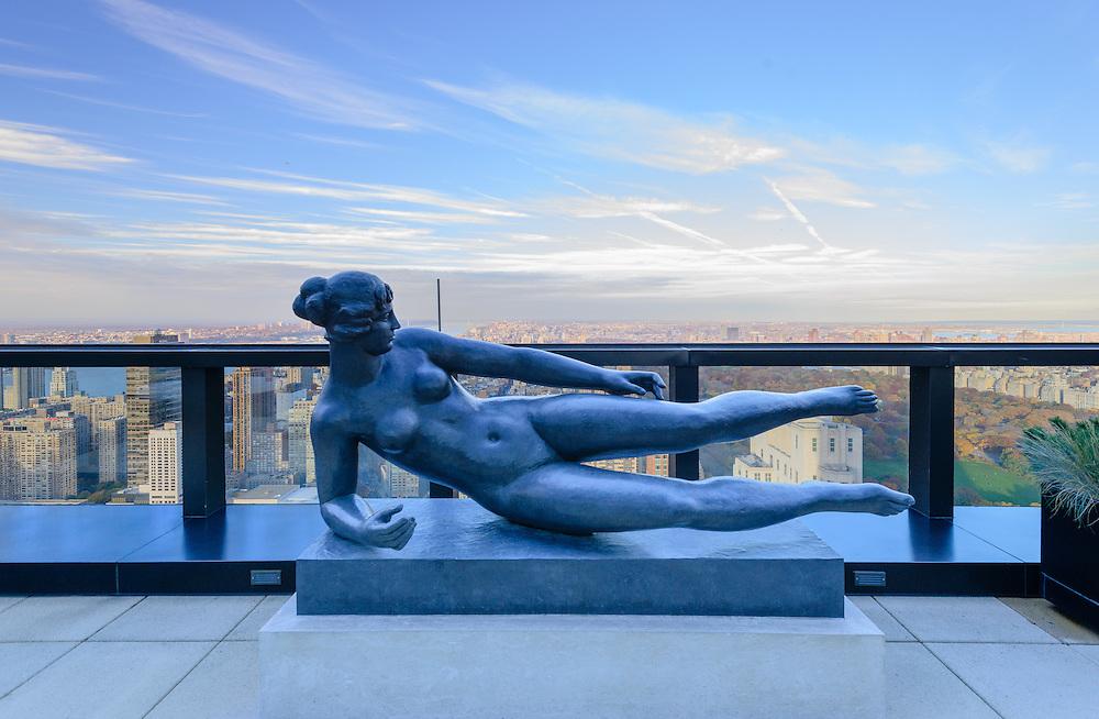 Air by Aristide Maillol, 80 Columbus Circle,, New York City, New York