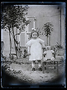 little toddler girl France 1923