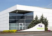 Modern architecture commercial property Kembrey Park business park, Swindon, Wiltshire, England, UK - Maple offices building