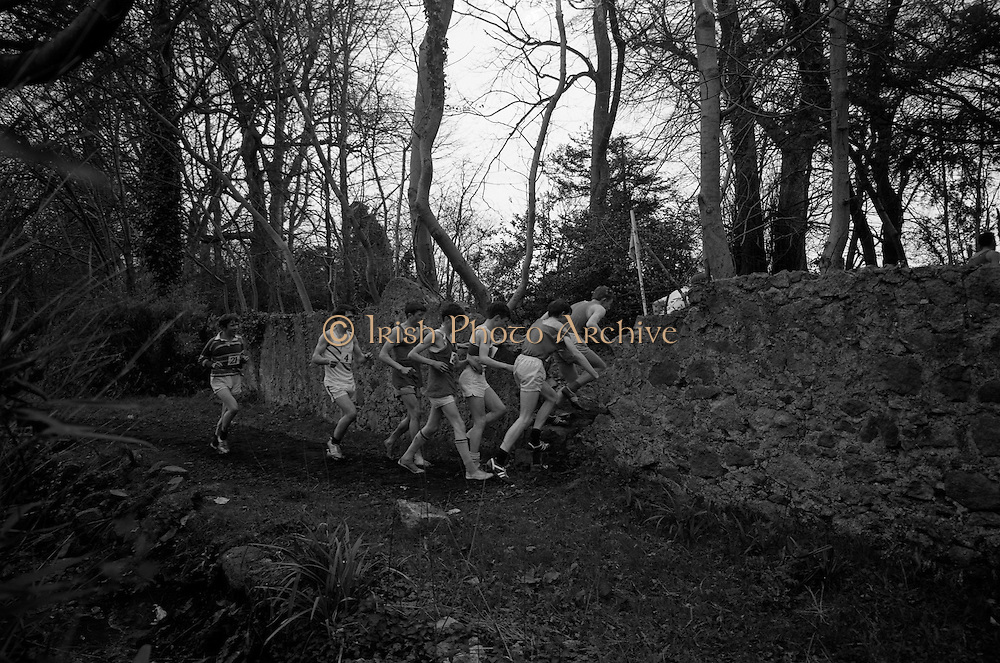 23/03/1966<br /> 03/23/1966<br /> 23 March 1966<br /> All Ireland Colleges Cross Country Championships held at Belfield, Dublin.