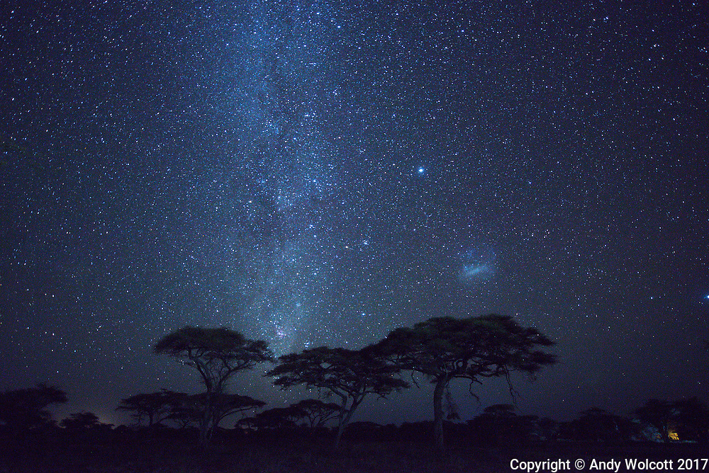 The Milky Way over Tanzania - January, 2017<br />