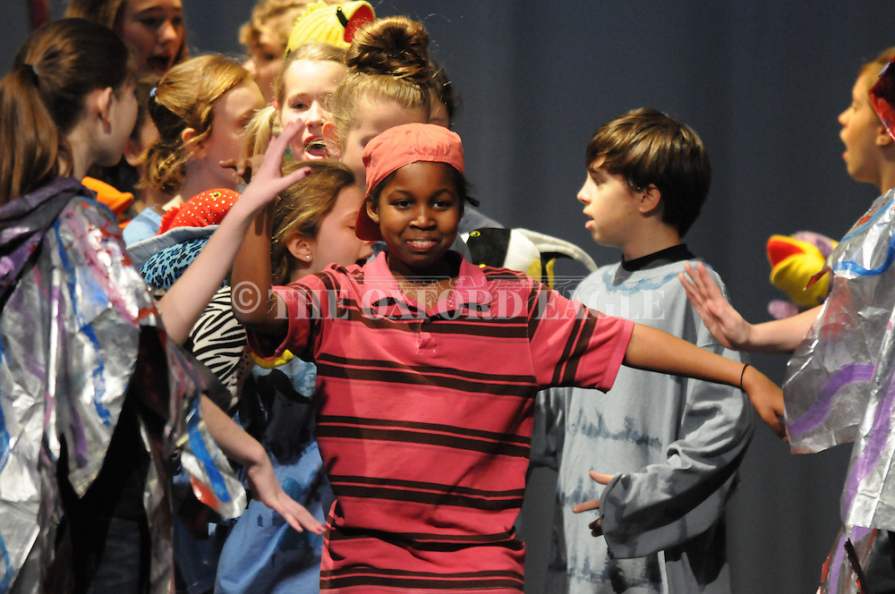 Oxford Middle School students perform Seussical, the Musical, a musical based upon Dr. Seuss, at Oxford  High School in Oxford, Miss. on Thursday, February 24, 2011.