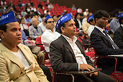 Indians living in Japan gathered at the event June 14 to show their support for Surai Sasai.<br /> Photo by Christina Sj&ouml;gren