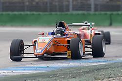 Lirim Zendeli beim Rennen in der ADAC Formel 4 auf dem Hockenheimring/ 011016<br /> <br /> *** ADAC Formula 4 race on October 1, 2016 in Hockenheim, Germany ***