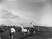 25/02/1961<br /> 02/25/1961<br /> 25 February 1961<br /> Soccer, Amateur International: Ireland v England at Dalymount Park, Dublin.