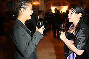 l to r: Lorin Hankin and Jenay Alejandro at The Fifth Annual Grace in Winter Gala honoring Susan Taylor, Kephra Burns, Noel Hankin and Moet Hennessey USA and benfiting The Evidence Dance Company held at The Plaza Hotel on February 3, 2009 in New York City.