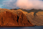 Rabida Cliffs<br /> Red Beach<br /> Rabida<br /> Galapagos<br /> Ecuador, South America