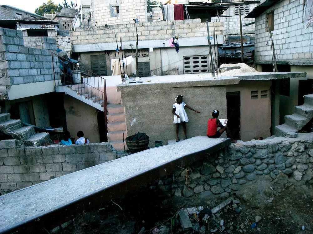 Christ Roi, Port Au Prince, Haiti. Photo by Ben Depp 01.14.2009