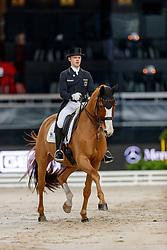 NETZ Raphael (GER), Lacoste<br /> Stuttgart - German Masters 2019<br /> PREIS DER LISELOTT SCHINDLING STIFTUNG ZUR FÖRDERUNG DES DRESSURREITSPORTS<br /> Piaff Förderpreis Finale<br /> Nat. Dressurprüfung Kl. S***<br /> Grand Prix<br /> 15. November 2019<br /> © www.sportfotos-lafrentz.de/Stefan Lafrentz