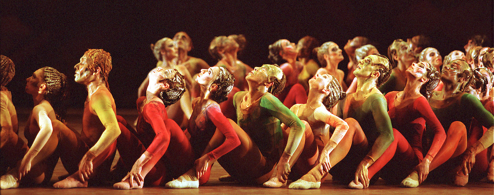 """English National Ballet in Sir Kenneth MacMillan's """"Rite of Spring"""""""