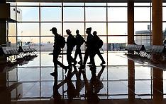 20110204 FC København at Barcelona Airport