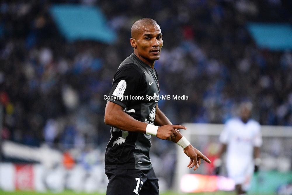 Florent MALOUDA - 07.12.2014 - Marseille / Metz - 17eme journee de Ligue 1 -<br />Photo : Gaston Petrelli / Icon Sport