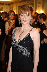 Actress SAMANTHA BOND at the 25th annual Awards of the London Film Critics' Circle in aid of the NSPCC held at The Dorchester Hotel, Park Lane, London W1 on 9th February 2005.<br /><br />NON EXCLUSIVE - WORLD RIGHTS