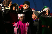 Rochester Mayor Lovely Warren prepares to light the Liberty Pole on Saturday, December 5, 2015.