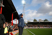 Brentford Manager / Head Coach Dean Smith during the EFL Sky Bet Championship match between Brentford and Sunderland at Griffin Park, London, England on 21 October 2017. Photo by Andy Walter.