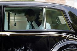 19.06.2014, Plaza De Oriente, Madrid, ESP, Inthronisierung, König Felipe VI, Ankunft im spanischen Abgeordnetenhaus, im Bild King Felipe VI of Spain and Queen Letizia of Spain // during the Enthronement ceremonies of King Felipe VI at the Plaza De Oriente in Madrid, Spain on 2014/06/19. EXPA Pictures © 2014, PhotoCredit: EXPA/ Alterphotos/ EFE/Pool<br /> <br /> *****ATTENTION - OUT of ESP, SUI*****