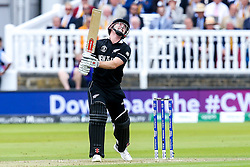 Henry Nicholls of New Zealand cuts a frustrated figure - Mandatory by-line: Robbie Stephenson/JMP - 14/07/2019 - CRICKET - Lords - London, England - England v New Zealand - ICC Cricket World Cup 2019 - Final