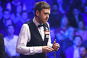 Ricky Walden during the Snooker Players Championship Final at EventCity, Manchester, United Kingdom on 27 March 2016. Photo by Pete Burns.