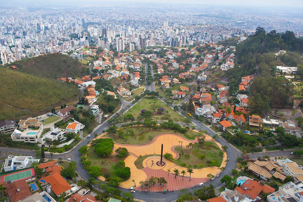 Belo Horizonte_MG, Brasil.<br /> <br /> Imagem aerea de Belo Horizonte, Minas Gerais. Na foto Praca do Papa.<br /> <br /> Aerial view of Belo Horizonte, Minas Gerais. In this photo Praca do Papa.<br /> <br /> Foto: RODRIGO LIMA / NITRO