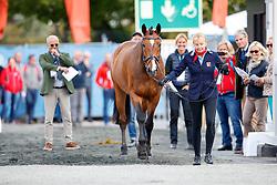 Krinke-Susmelj Marcela, SUI, Smeyers Molberg<br /> Dressage Vetcheck<br /> European Championship Goteborg 2017<br /> © Hippo Foto - Stefan Lafrenz