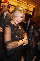"""KAY SAATCHI at a party hosted by Christopher Bailey to celebrate the launch of """"The Snippy World of New Yorker Fashion Artist Michael Roberts"""" held at Burberry, 21-23 New Bond Street, London on 20th September 2005.<br /><br />NON EXCLUSIVE - WORLD RIGHTS"""