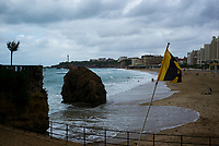 Biarritz city images taken in July 2017, Biarritz, France