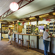 Wine tasting room at Summit Estate Wines in Stanthorpe, Queensland.