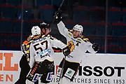 STOCKHOM 2017-10-27: Joakim Lindstr&ouml;m i Skellefte&aring; AIK jublar efter att ha gjort 2-1 under matchen i SHL mellan Djurg&aring;rdens IF och Skellefte&aring; AIK p&aring; Hovet, Stockholm, den 27 oktober 2017.<br /> Foto: Nils Petter Nilsson/Ombrello<br /> ***BETALBILD***