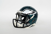 General overall view of Philadelphia Eagles helmet. The Eagles will play the New England Patriots in Super Bowl LII on Sunday, Feb. 4, 2018 in the 52nd meeting between the AFC and the NFC Champions.