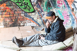 Mike is a homeless man living around Sheffield. He has been homeless or sofa surfing over the winter.