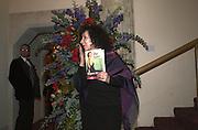 Margaret Atwood. The Booker prize 2000. Guildhall, London EC2. 7 November 2000. © Copyright Photograph by Dafydd Jones 66 Stockwell Park Rd. London SW9 0DA Tel 020 7733 0108 www.dafjones.com